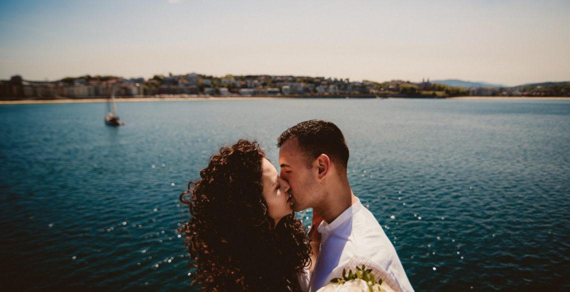 boda wedding donostia san sebastian gipuzkoa fotografo profesional hugo mañez reportaje estudio fotos sesion novia novio