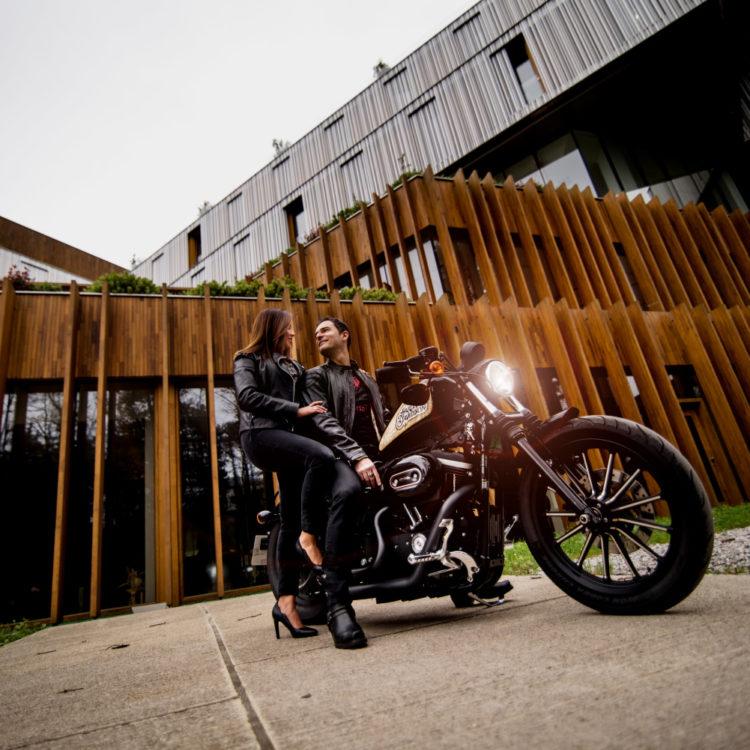 fotografo profesional donostia san sebastian gipuzkoa reportaje retrato moto harley davidson estudio sesion
